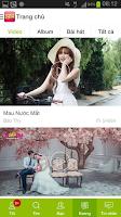 Screenshot of Keeng.vn: Music social network