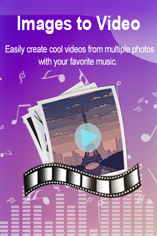Images to Video - cool video maker & photo editor screenshots 2
