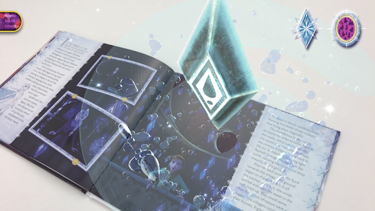 Frozen Book with Digital Magic 4