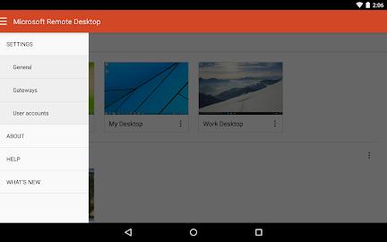 Microsoft Remote Desktop Screenshot 12