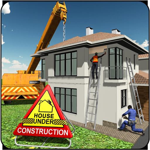 ev bina İnşaat Oyunlar - Kent inşaatçı APK