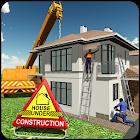 屋 建造 施工 游戏 -  市 生成器 icon