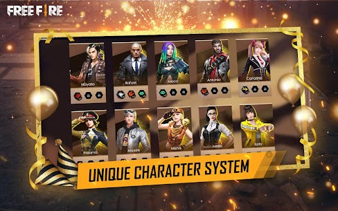 Garena Free Fire Mod Apk v1.39.0 (Unlimited Diamonds And Coins) 3