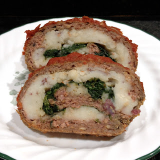 Pinwheel Meatloaf with Vegetables