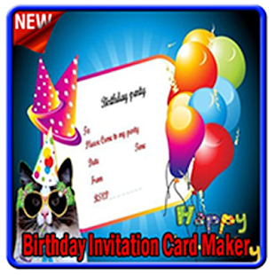 Birthday invitation card maker android apps on google play birthday invitation card maker screenshot thumbnail stopboris Choice Image