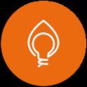 Bluemeta App gas e luce icon