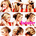 Hairstyles Girl Tutorial Icon