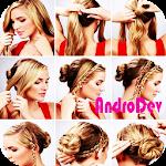 Hairstyles Girl Tutorial Icon