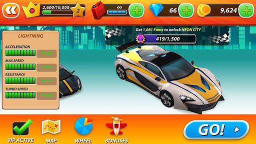 xtreme drive: car racing 3d screenshot 1