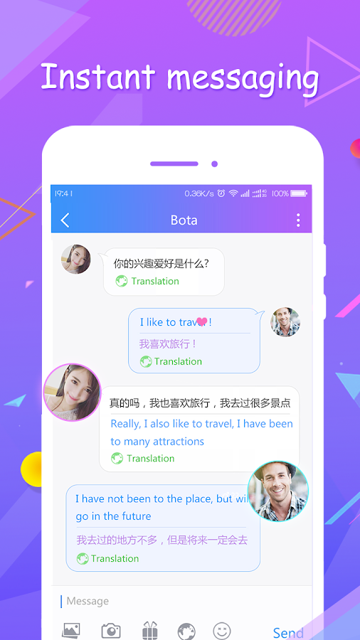 Best chatting and dating app