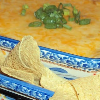 Hot Mexican Bean Dip.