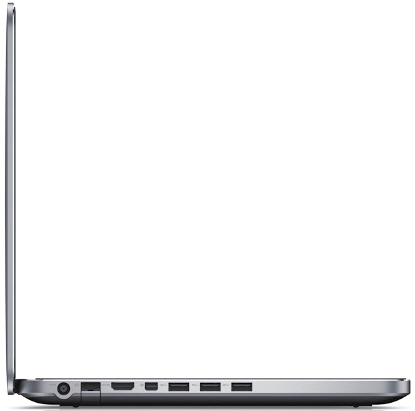 Photo: Dell XPS 15 laptop - left side view.More details here: http://dell.to/Oj6LIW