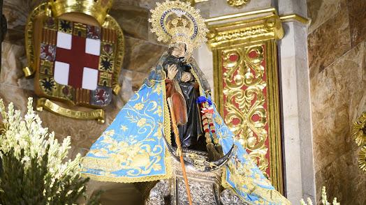 La Patrona de Almería, la Virgen del Mar.