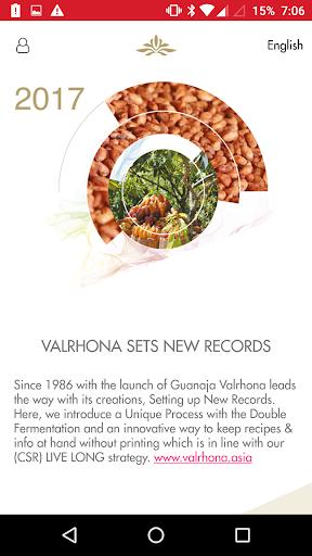 Valrhona APAC screenshot