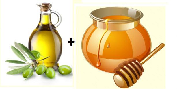 Cách làm trắng da mặt bằng mật ong và dầu ôliu.jpg