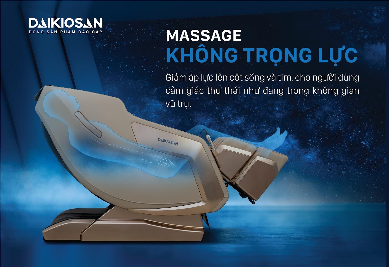 massage không trọng lực
