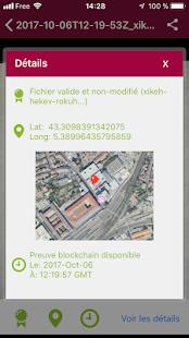 Blockchain Patrimonia - náhled
