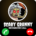 Scary Granny Chat and Call Simulator icon