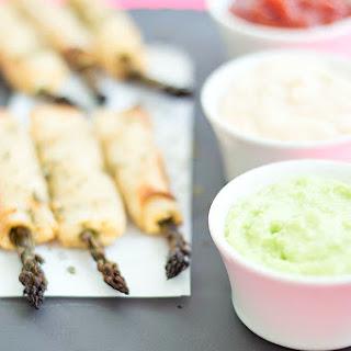 Asparagus Wonton Fries