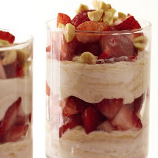 Strawberry-Peanut Butter Parfaits