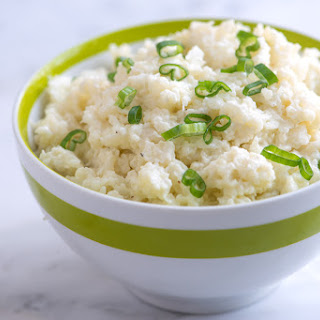 20 Minute Mashed Cauliflower.
