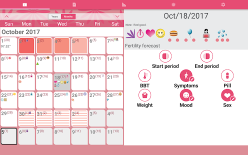 WomanLog Calendar- screenshot thumbnail