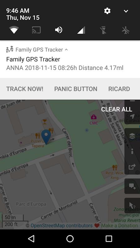 Family GPS Tracker FREE screenshots