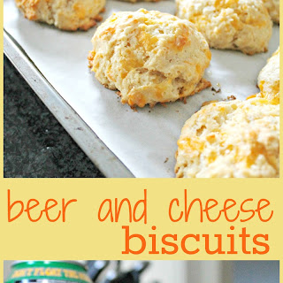 Beer and Cheese Biscuits.