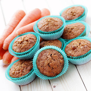 Carrot-Coconut Muffins.