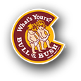 Logo of Bull & Bush Geneesse Mt. Rainbow Stout