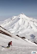 Photo: Skier: Clarion, location: volcano Koryaksky, Kamchatka-peninsula