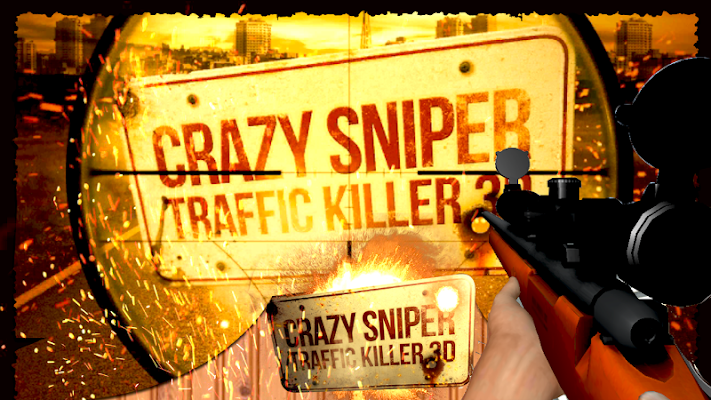 City Traffic Sniper Shooter 3D - screenshot
