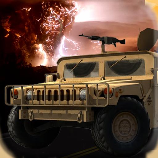 FireStorm Car Race : Gunship 動作 App LOGO-APP試玩
