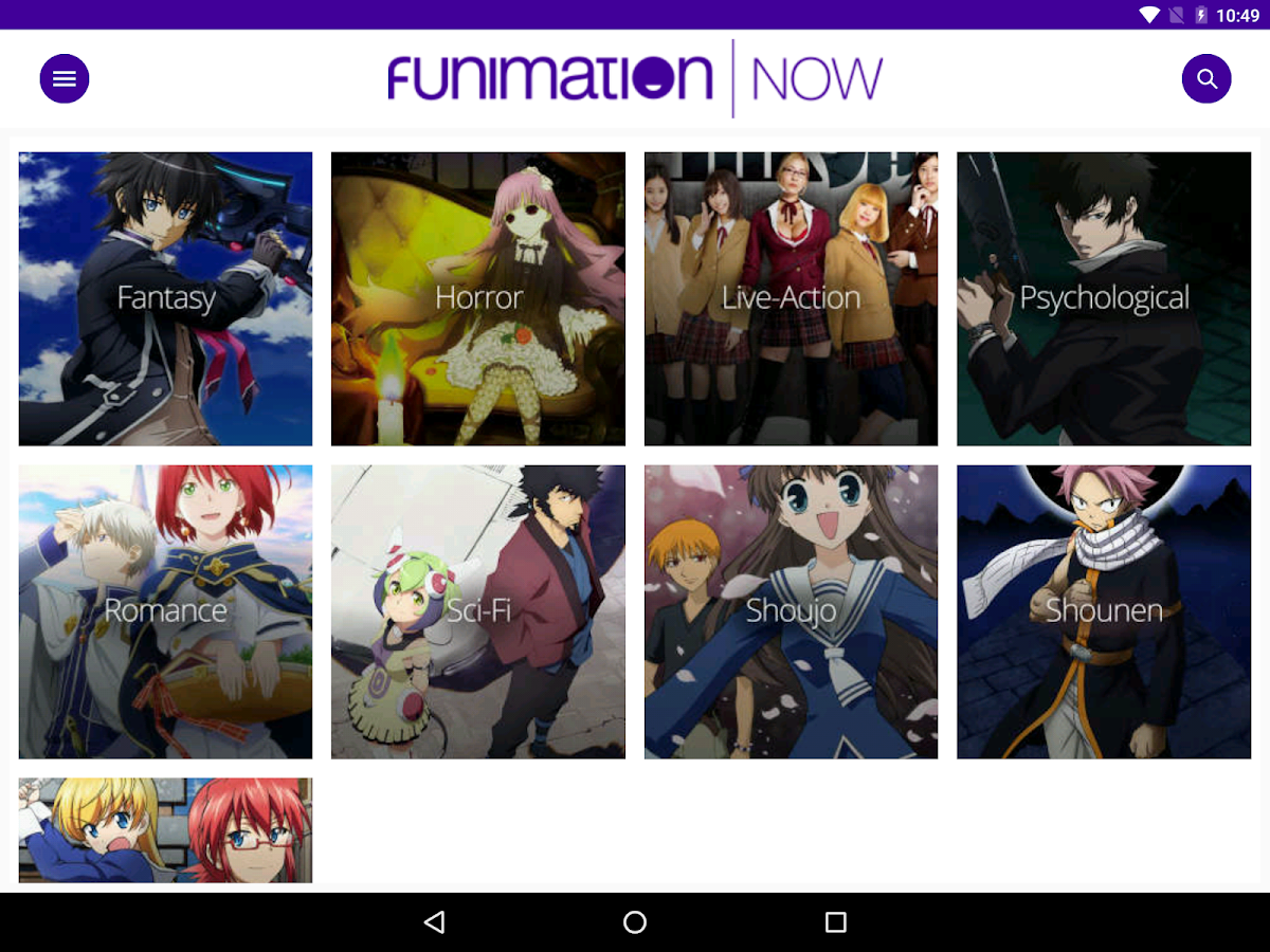 FunimationNow- screenshot