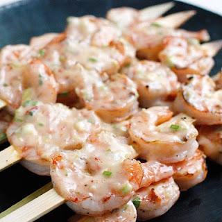 Bangin' Grilled Shrimp Skewers