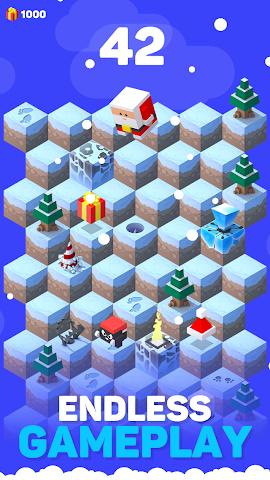 android Ice Hill: Endless Xmas Fun Screenshot 0