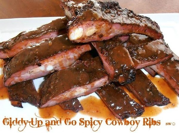 Giddy-up And Go Spicy Cowboy Ribs Recipe