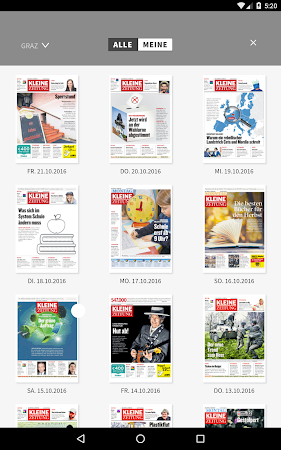 Kleine Zeitung ePaper 3.0.12 screenshot 1298924