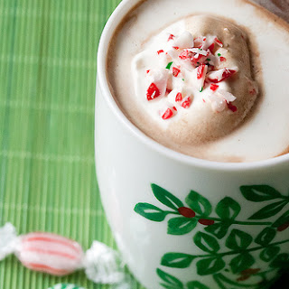 Candy Cane Hot Chocolate Recipe