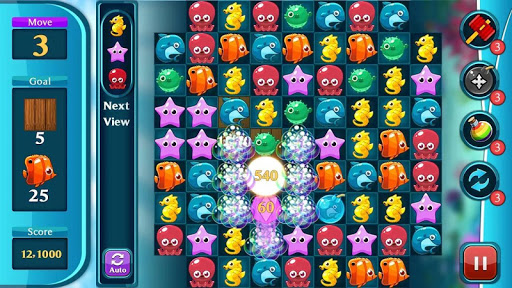 Ocean Match Puzzle apktram screenshots 7