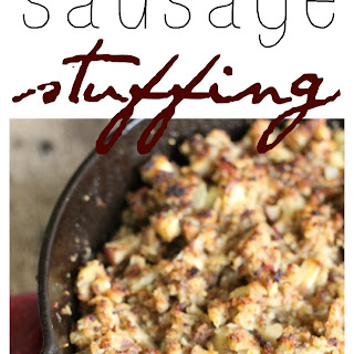 Apple and Onion Sausage Stuffing