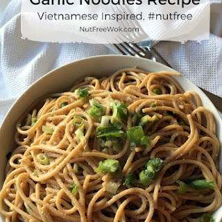 Garlic Noodle Recipe, Vietnamese Inspired