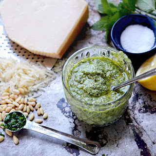 Lemon Balm Pesto.