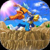 Goku Saiyan Battle Fight Z