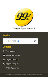 99 FM Prudente- screenshot thumbnail