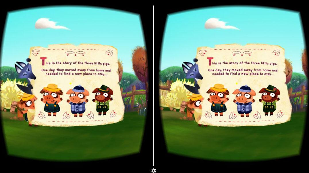 Three Little Pigs VR- screenshot