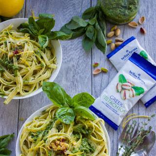 Fettuccine With Pesto Sauce Recipes