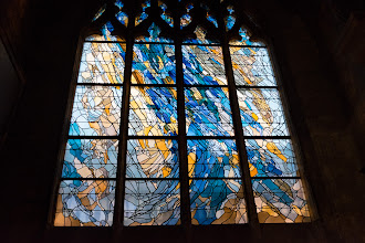Photo: Modern stained glass