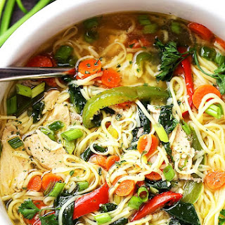 Asian Chicken Noodle Soup.