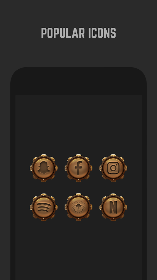 Steampunk Icon Pack- screenshot